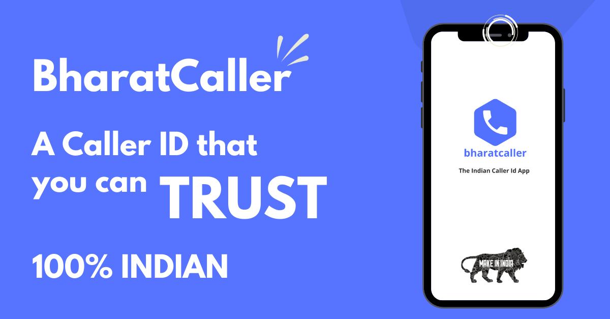 BharatCaller - an Indian Caller ID App